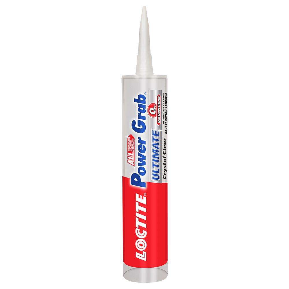 Loctite Power Grab Ultimate Crystal Clear 9 fl. oz. Construction Adhesive