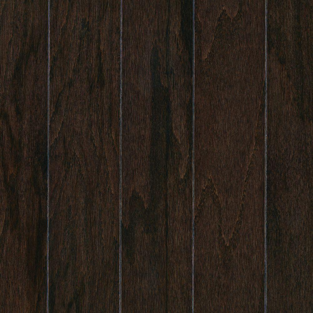 Take Home Sample Pastoria Oak Chocolate Engineered Hardwood Flooring 5 In X 7