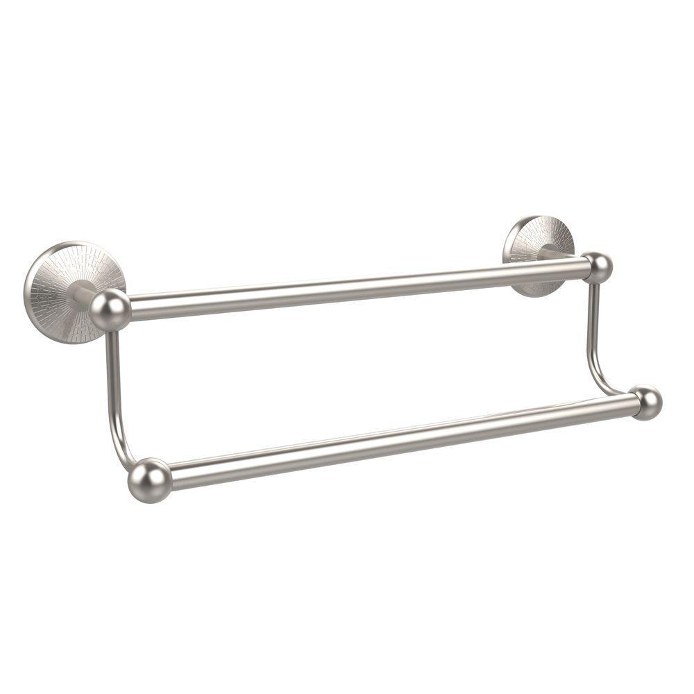Prestige Monte Carlo Collection 24 in. Double Towel Bar in Satin