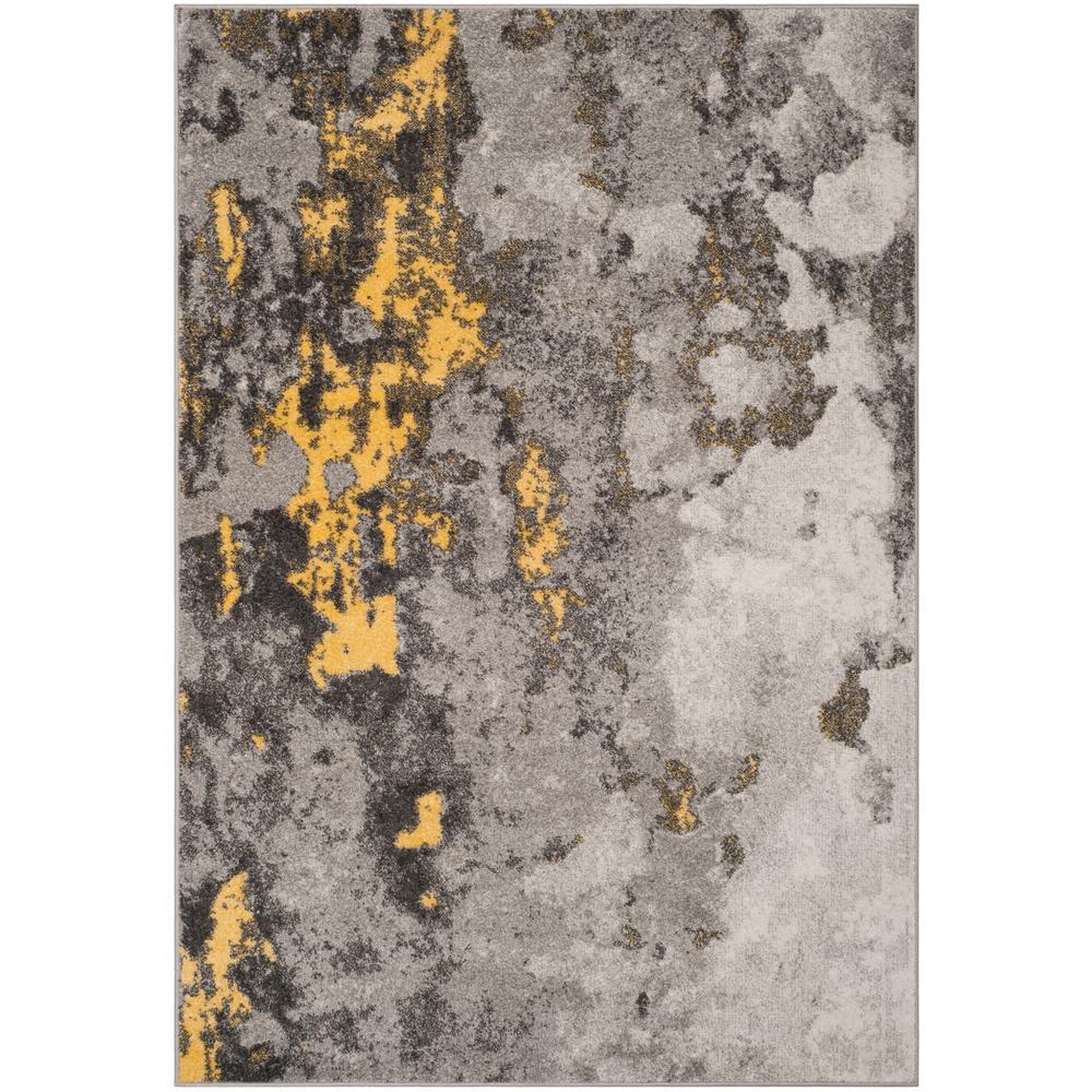 Safavieh Adirondack Gray Yellow 8 Ft X