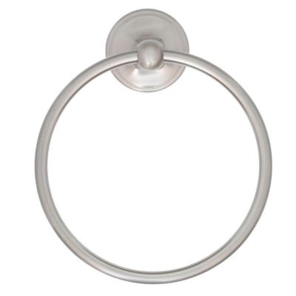 Portman Towel Ring in Brushed Nickel