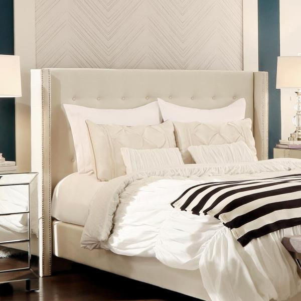 Franklin Park Cream White Queen Headboard