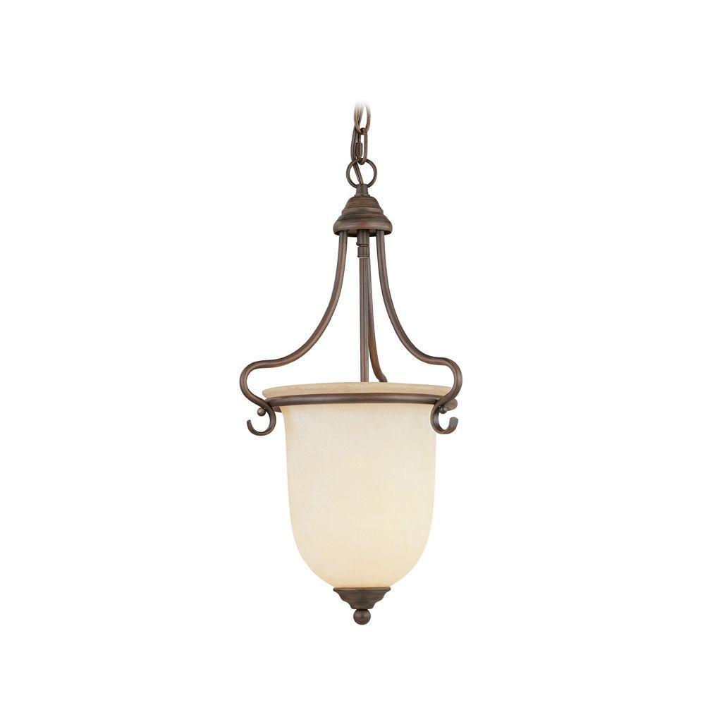 Livex Lighting Providence 1-Light Imperial Bronze Incandescent Pendant
