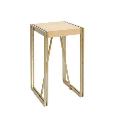 Hudson Gold End Table