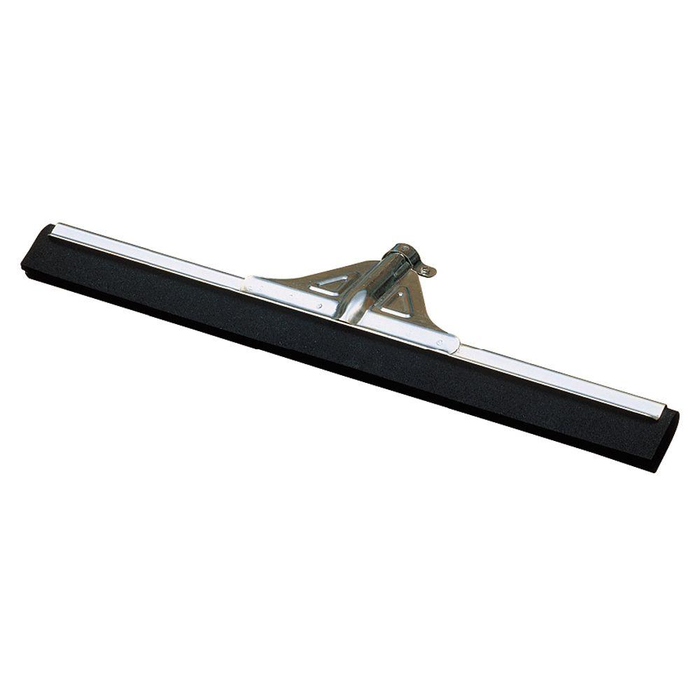 Carlisle 30 in. Black Metal Soft Foam Squeegee (10-Pack)
