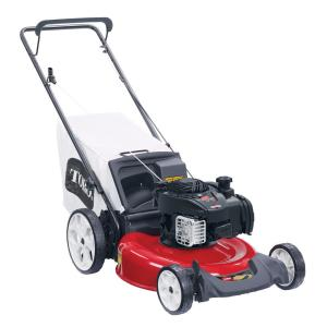 Recycler 21 in. Briggs & Stratton High Wheel Gas Walk Behind Push Lawn Mower with Bagger