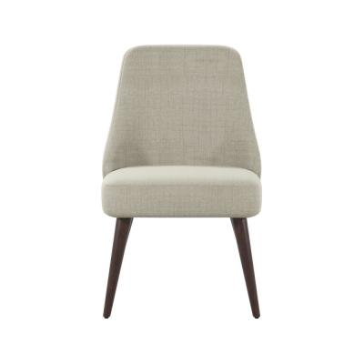 Desiree 32.25 in. Beige Accent Chairs (Set of 2)