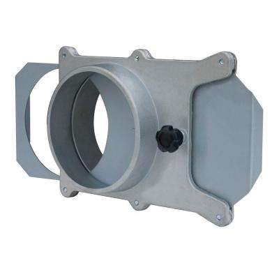 4 in. Aluminum Blast Gate for Vacuum/Dust Collector