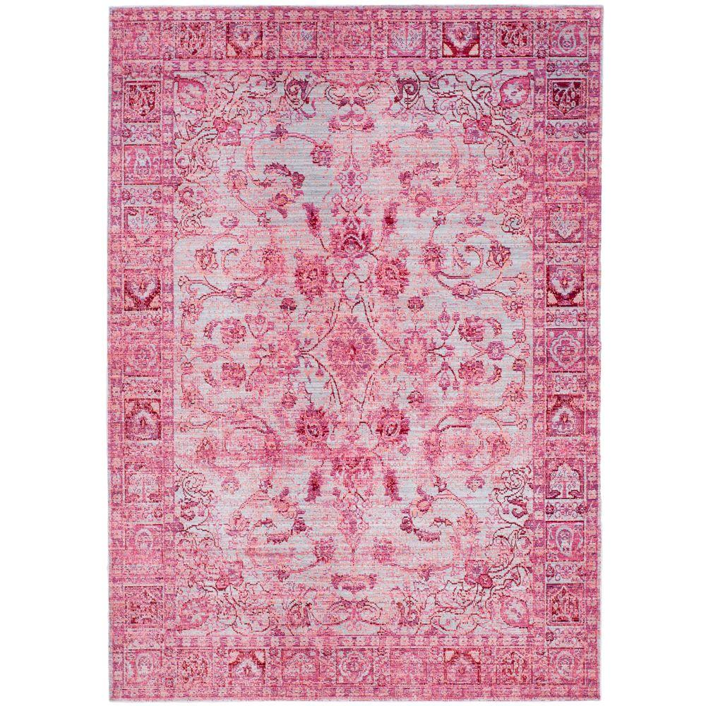 Safavieh Valencia Fuchsia Multi 8 Ft X 10 Area Rug