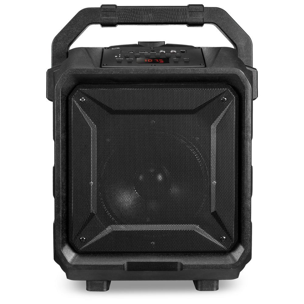 iLive iLive Portable Bluetooth Wireless Tailgate Speaker, Black