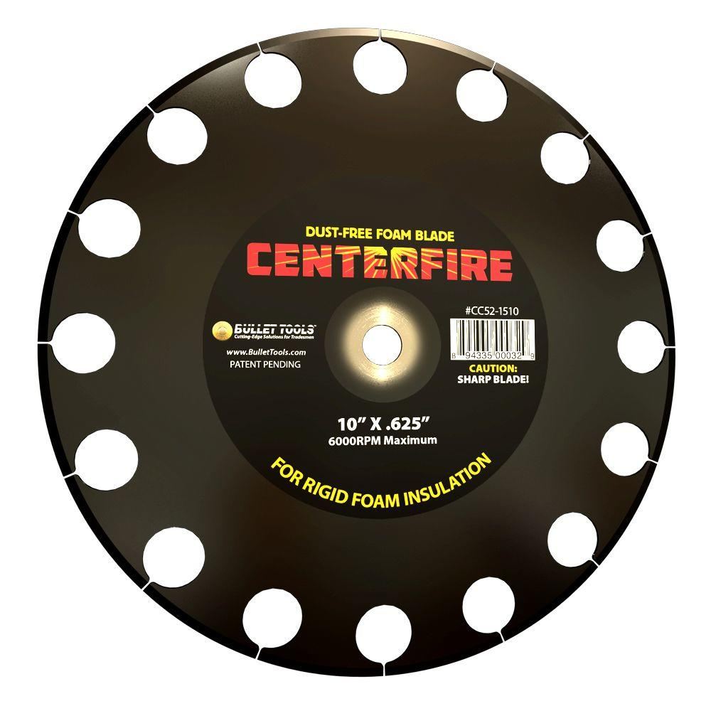 Bullet Tools 10 in. CenterFire Foam Cutting Blade