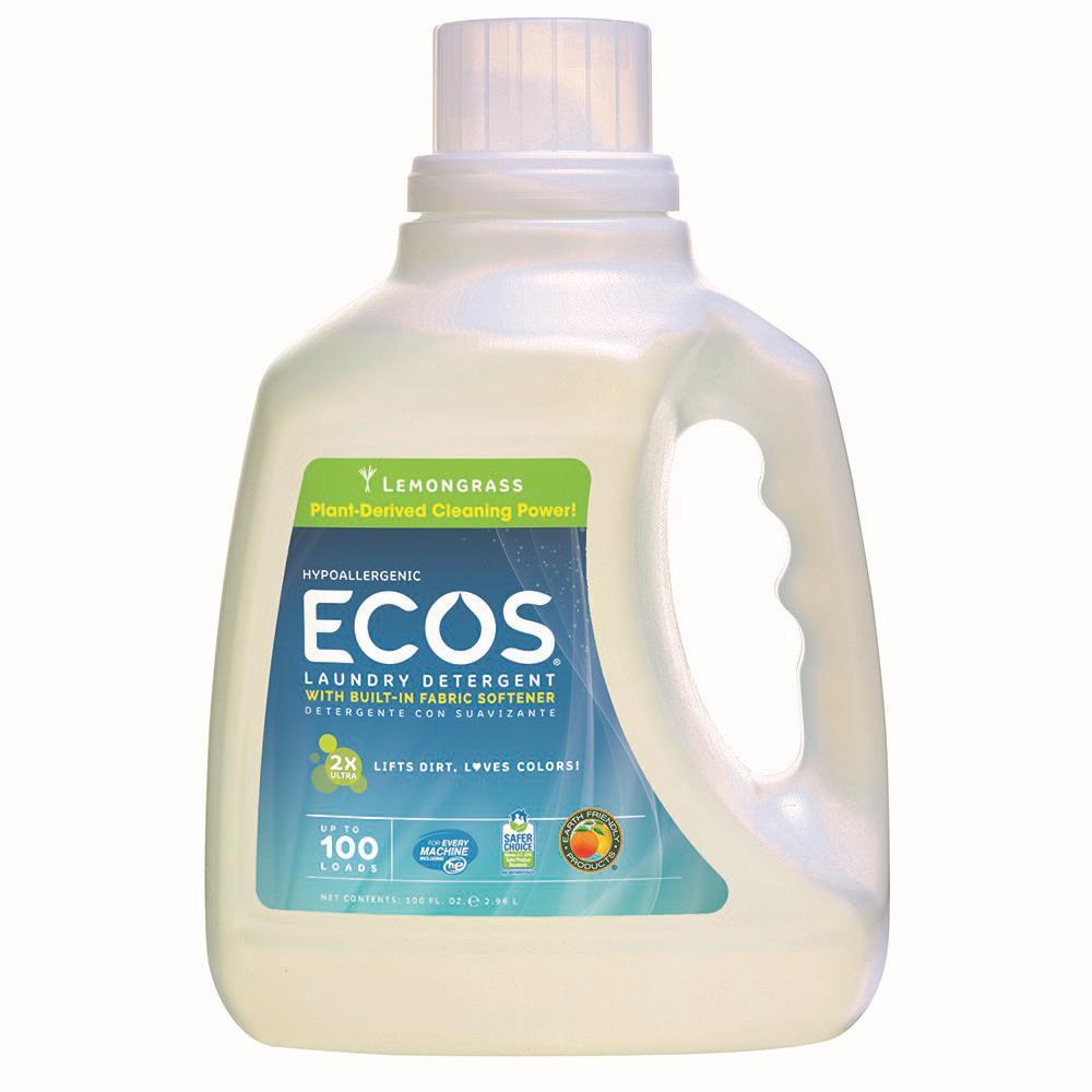 100 oz. Lemongrass Scented Liquid Laundry Detergent
