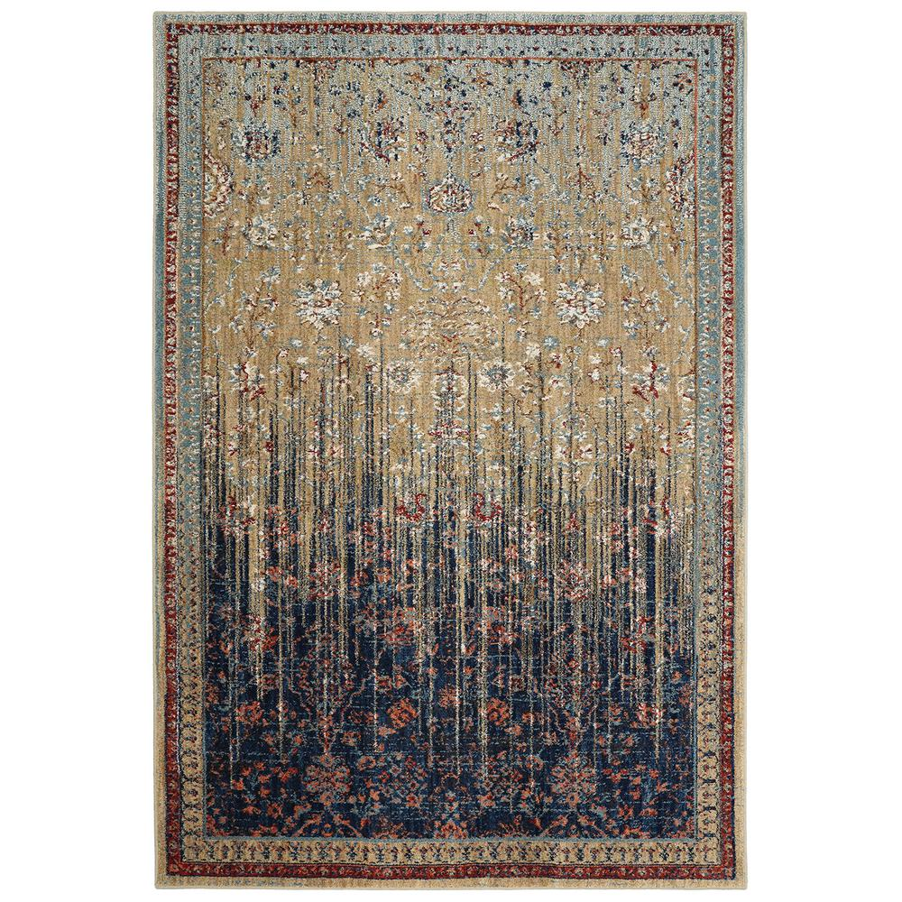 Karastan Studio Wanderlust Reuss Gold 8 ft. x 11 ft. Area