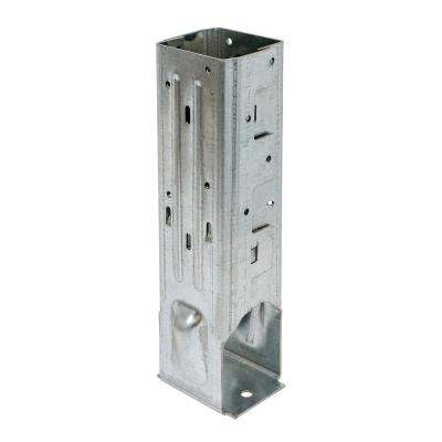 MPBZ ZMAX Galvanized Moment Post Base for 4 in. x 4 in. Nominal Lumber with SDS Screws