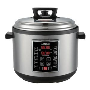 GoWISE USA 12 Qt. Electric Pressure Cooker XL with 12-Presets by GoWISE USA