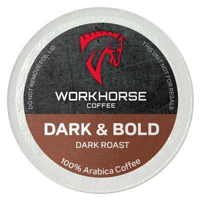 Dark and Bold Coffee Pods (72 Single Serve Cups per Box)