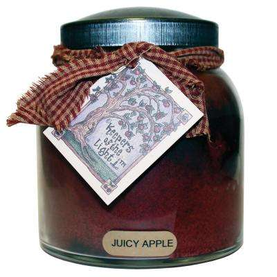 Juicy Apple Glass Candle
