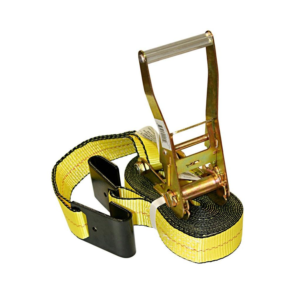 2 in. x 27 ft. Tie-Downs Truck/Trailer Strap (10,000 lbs.)