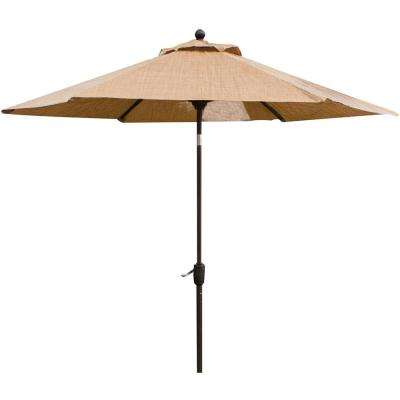 Legacy 9 ft. Patio Umbrella in Tan