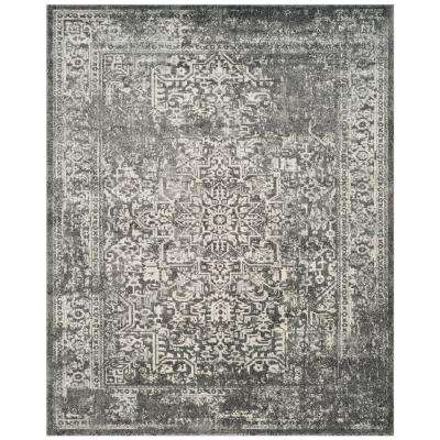 Evoke Grey Ivory 10 Ft X 14 Area Rug
