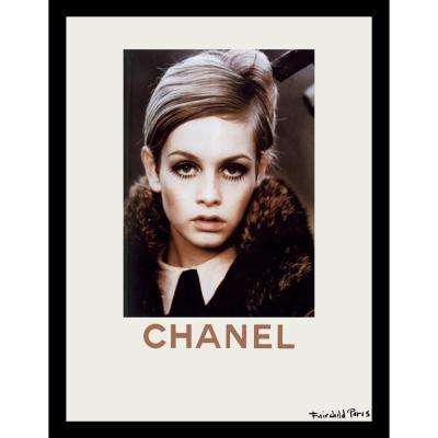 """24 in x 18 in"" ""Fall Fashion"" Lesley Lawson ""Twiggy"" Collection by Fairchild Paris Framed Printed Wall Art"