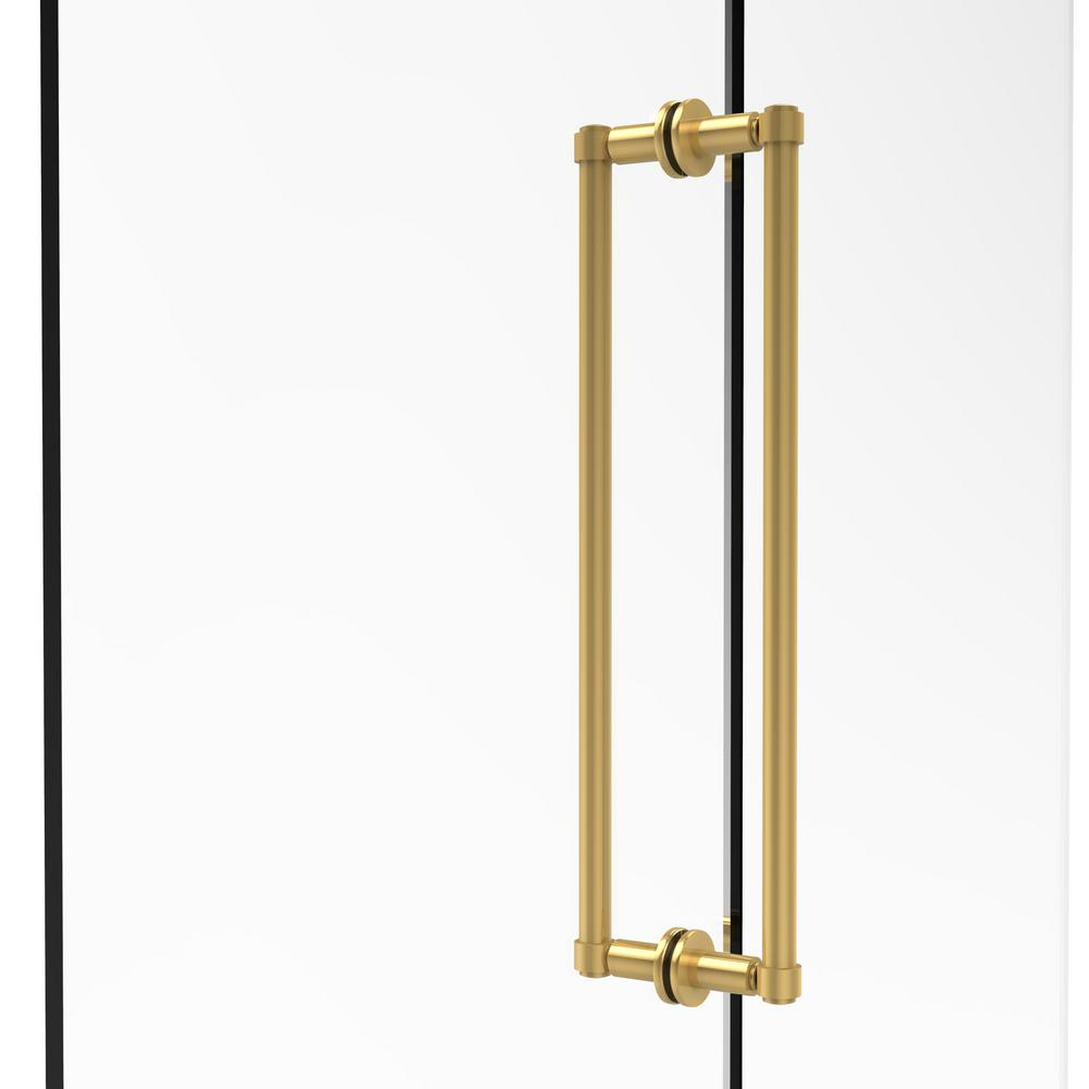 Allied Brass Contemporary 18 In Back To Back Shower Door