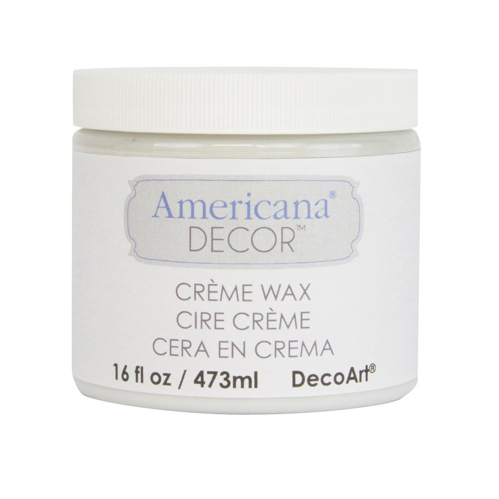 Americana Decor 16 oz. Clear Creme Wax
