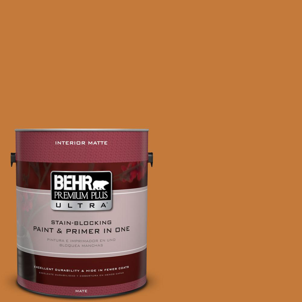 1 gal. #270D-7 Fall Leaves Flat/Matte Interior Paint