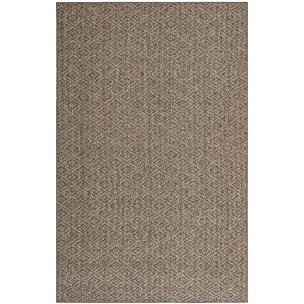 Diamond Natural 8 ft. x 11 ft. Area Rug