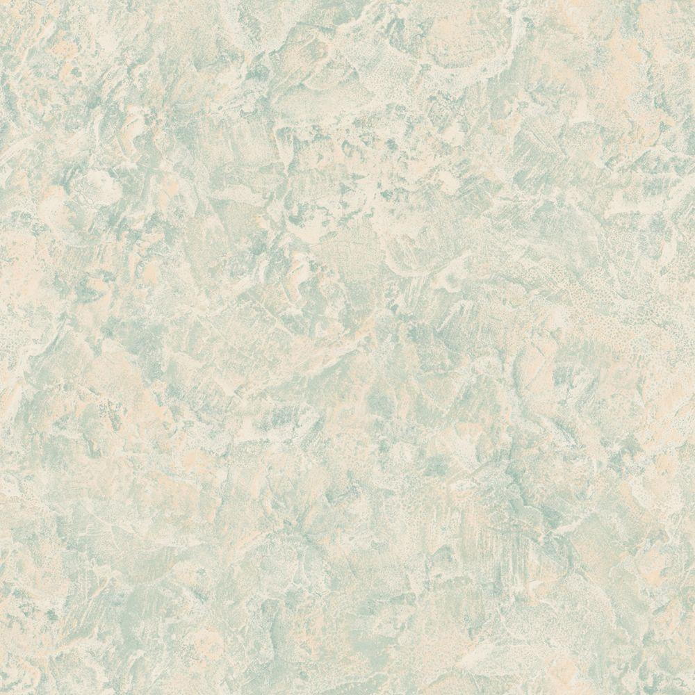The Wallpaper Company 8 in. x 10 in. Blue and Beige Textured Wallpaper Sample