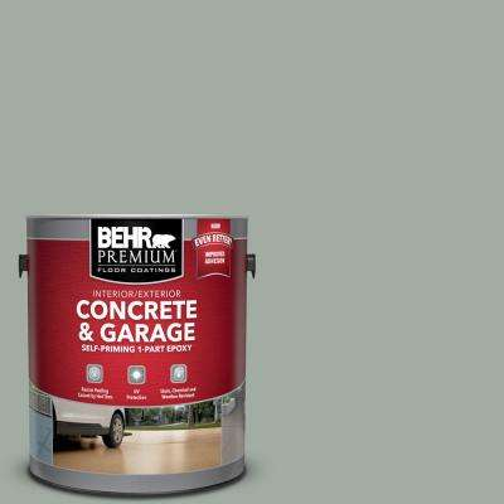 1 gal. #PFC-42 Flintridge Self-Priming 1-Part Epoxy Satin Interior/Exterior Concrete and Garage Floor Paint