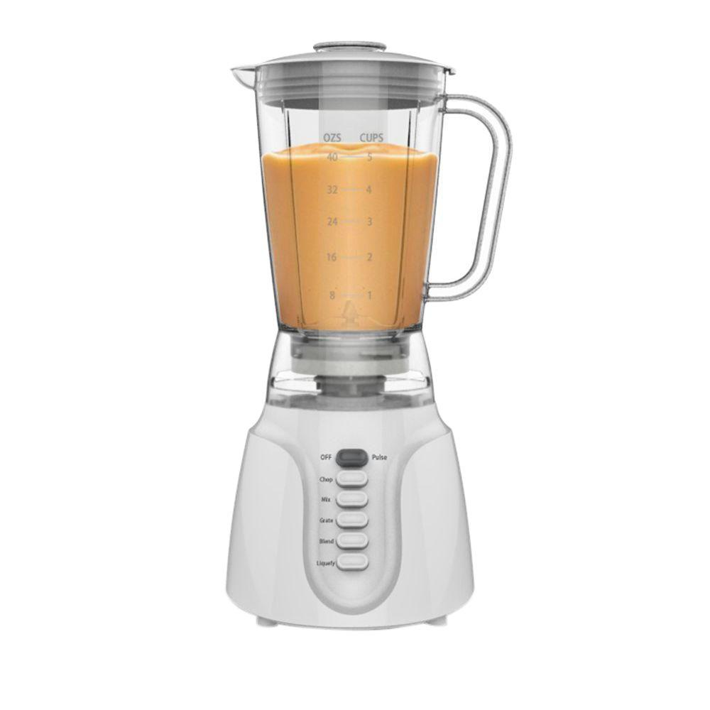 Kitchen selectives 5 speed blender 2735 the home depot for Kitchen perfected blender