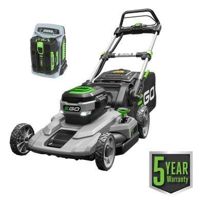 21 in. 56-Volt Lithium-ion Cordless Battery Walk Behind Push Mower 5.0 Ah Battery/Charger Included