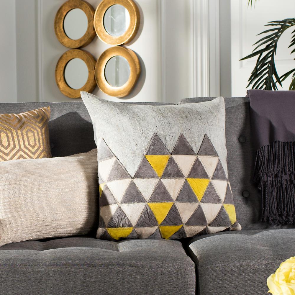Perris Cowhide Standard Pillow