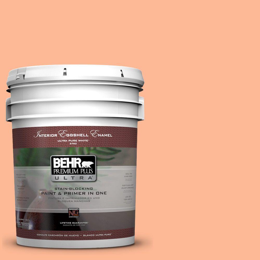 BEHR Premium Plus Ultra 5-gal. #P200-4 Carotene Eggshell Enamel Interior Paint