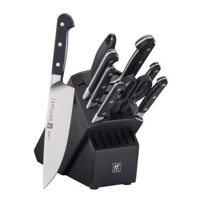 Pro 10-Piece Black Knife Block Set