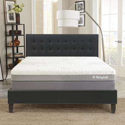 Cube 14 in. Queen Customizable and Adjustable Contouring MicroTec Gel Enhanced Memory Foam Mattress