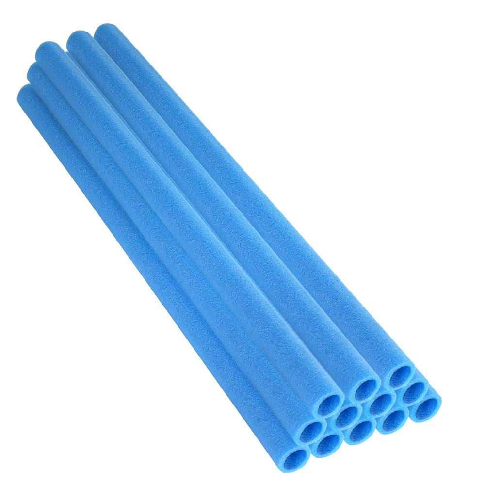 Trampoline Enclosure Foam Sleeves: Upper Bounce 33 In. Blue Trampoline Pole Foam Sleeves Fits