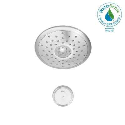 Spectra eTouch 4-Spray 7 in. Fixed Showerhead with 1.8 GPM in Chrome