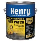 Henry 209XR Extreme Rubberized Wet Patch Roof Cement Leak Repair – 0.90 Gallon