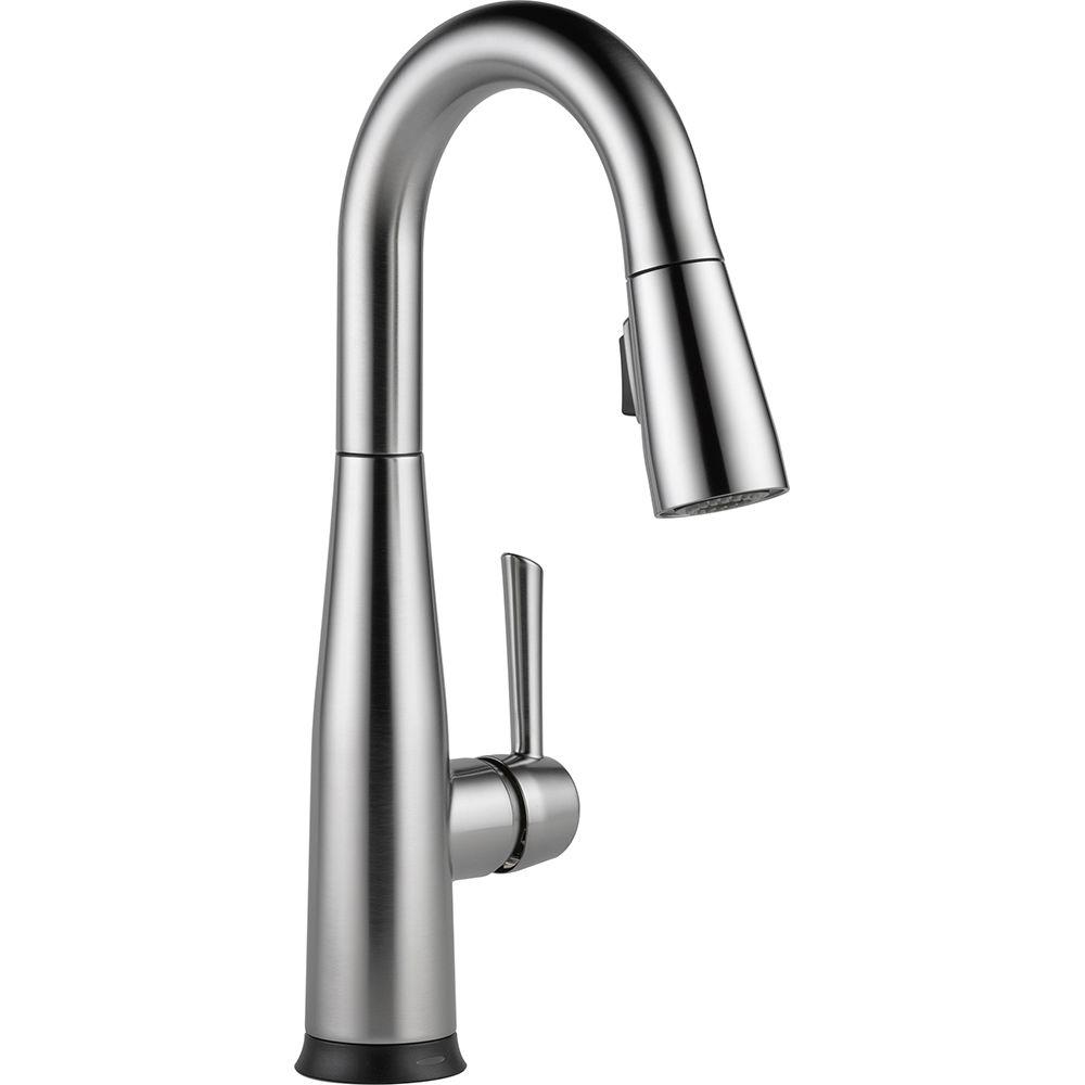 Delta Essa Touch2o Technology Single Handle Bar Faucet In