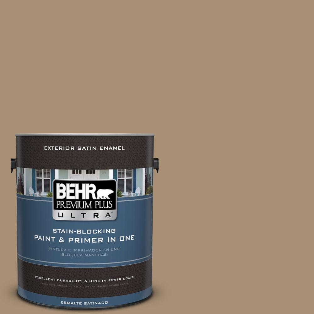 BEHR Premium Plus Ultra 1-gal. #N300-5 Hidden Treasure Satin Enamel Exterior Paint