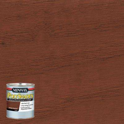 8 oz. PolyShades Antique Walnut Gloss Stain and Polyurethane in 1-Step (4-Pack)