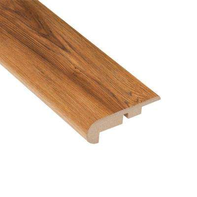 Pacific Hickory 7/16 in. Thick x 2-1/4 in. Wide x 94 in. Length Laminate Stair Nose Molding