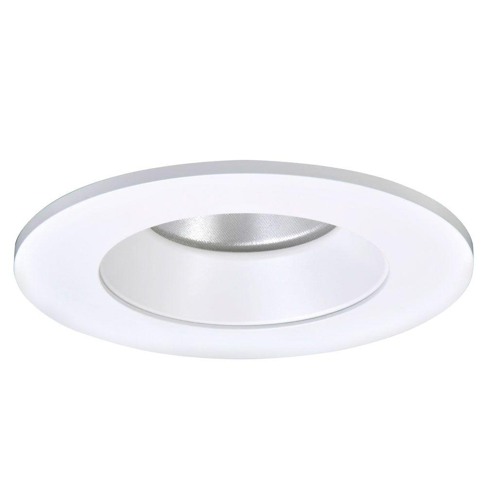 Halo 4 in white specular recessed ceiling light led reflector white specular recessed ceiling light led reflector trim tl402whs the home depot arubaitofo Image collections