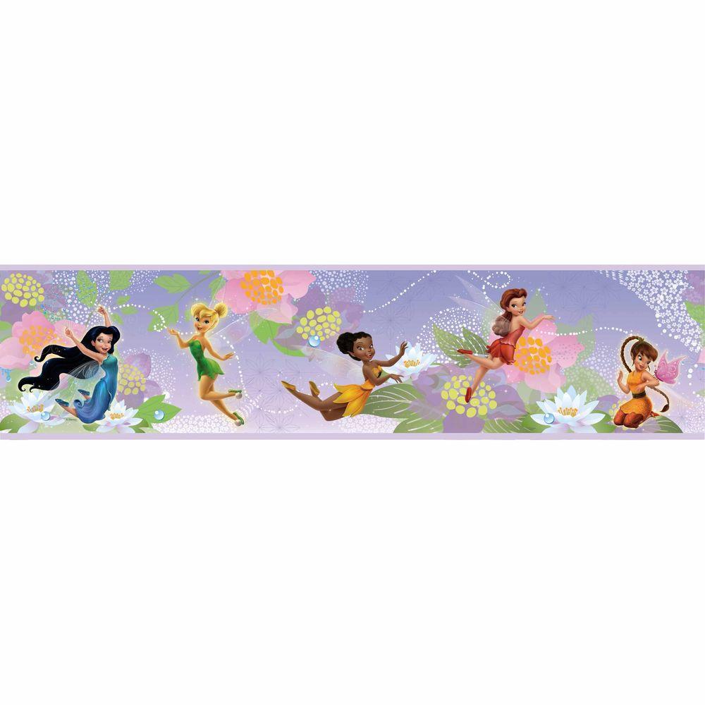Disney Fairies Peel and Stick Wallpaper Border