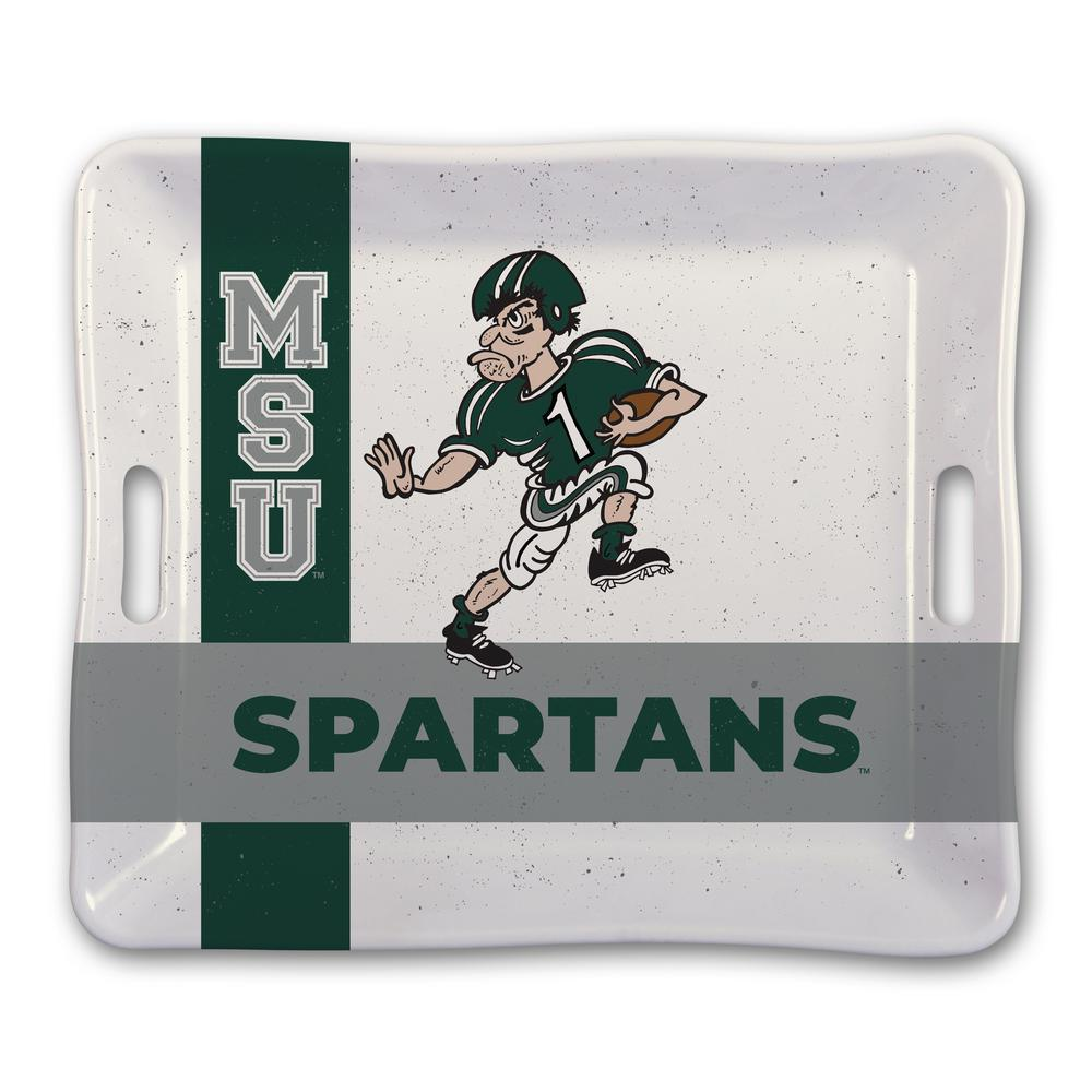 Michigan State Melamine Serving Tray