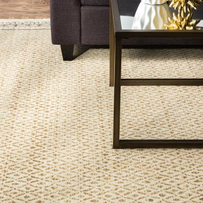 Stardust Gold 8 ft. x 10 ft. Area Rug