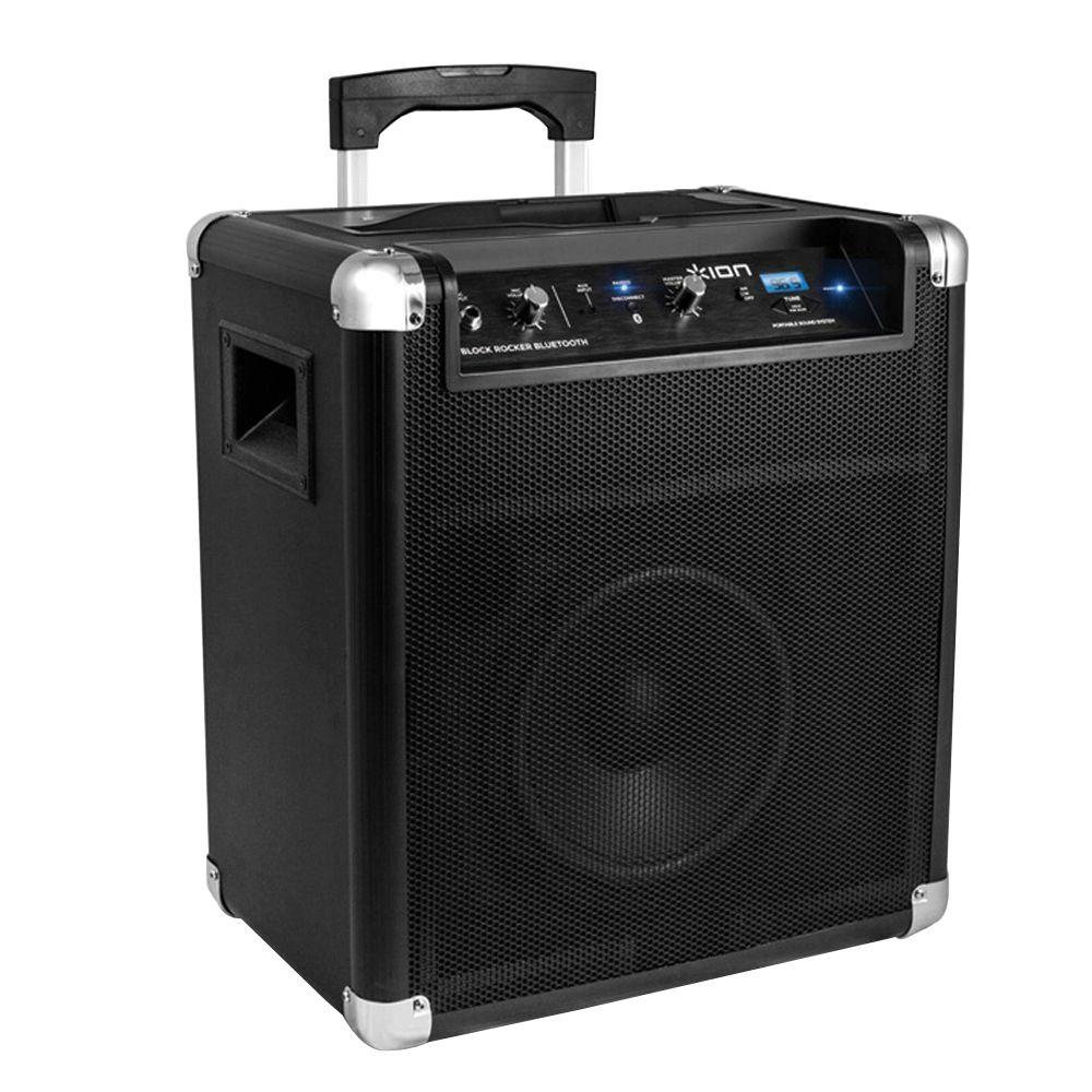 Ion 50-Watt Bluetooth Portable PA System on wheels with Handle