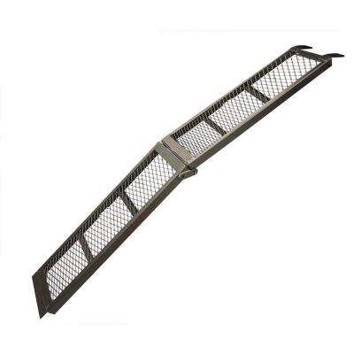 11 in. x 80 in. Steel Centre Folding Mesh Loading Ramp